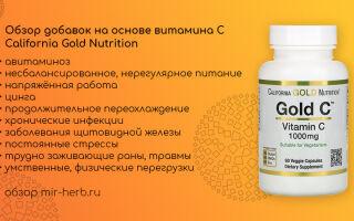 Обзор добавок на основе витамина С (аскорбиновой кислоты) от компании California Gold Nutrition для детей и взрослых. Изучаем состав, дозировки и отзывы потребителей