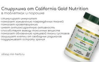Описание спирулины от California Gold Nutrition в таблетках и порошке. Изучаем состав, способ применения и пользу, которую принесет добавка, организму человека