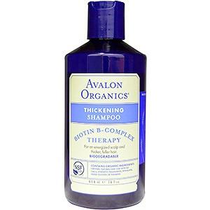 Avalon Organics Thickening Biotin B-Complex Therapy