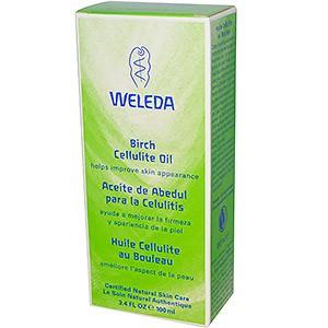 Масло от целлюлита с экстрактом березы Weleda