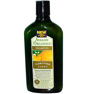 Avalon Organics, Шампунь, Clarifying Lemon