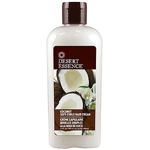 Desert Essence Coconut Soft Curls Hair – крем для вьющихся волос с кокосом