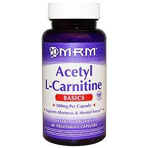 MRM, ацетил-L-карнитин