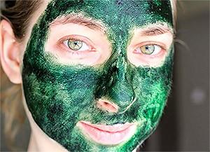 маска из спирулины