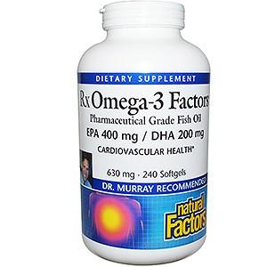 Natural Factors, RxOmega-3 Factors