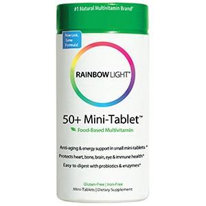 Rainbow Light, 50+ антивозрастной защитный комплекс витаминов
