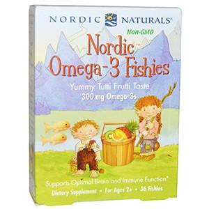 Nordic Naturals, Nordic Omega-3 Fishies, Yummy Tutti Frutti Taste