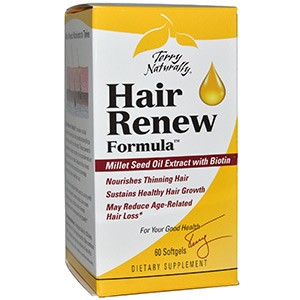 EuroPharma, Terry Naturally, Terry Naturally, Hair Renew Formula, формула восстановления волос