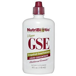 NutriBiotic, Жидкий концентрат GSE , с экстрактом семян грейпфрута