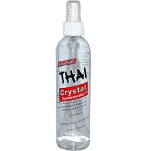 Thai Deodorant Stone, Crystal Deodorant Mist