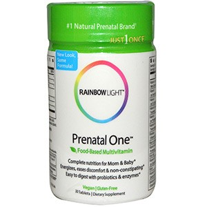 Rainbow Light, Мультивитамины на основе пищевых продуктов для беременных и кормящих женщин