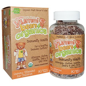 Hero Nutritional Products, Yummi Bears Organics, иммунное здоровье