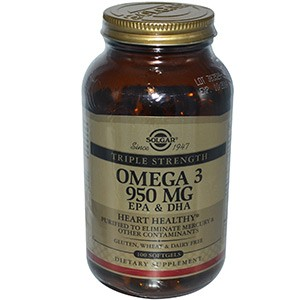 Solgar, Omega-3 EPA & DHA, Triple Strength