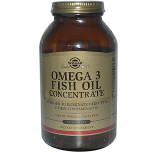 Solgar, Omega-3 Fish Oil Concentrate