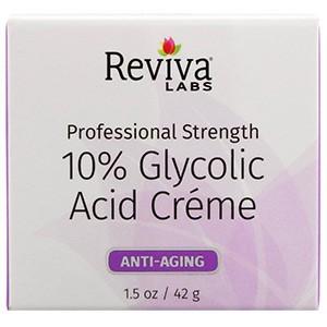 Reviva Labs, Крем с гликолевой кислотой 10%