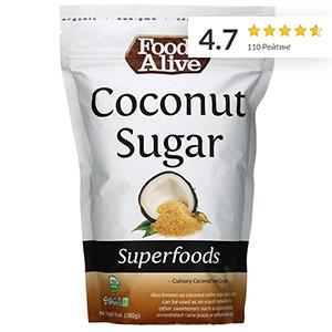 Foods Alive, суперфуд, органический кокосовый сахар