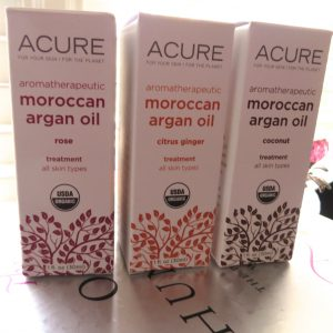 Подробный обзор линейки аргановых масел от Acure Organics на iHerb: аргановое масло в чистом виде, с кокосовым маслом, маслом розы и цитрусом. Способы применения масел в косметологии,  отзывы