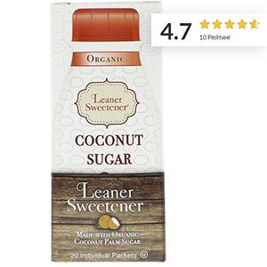 Leaner Creamer, Organic, Coconut Sugar