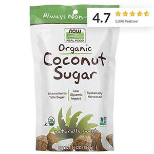 Now Foods, Real Food, органический кокосовый сахар