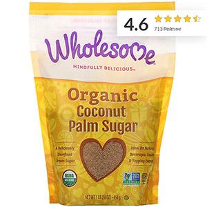 Wholesome, Органический сахар из кокосовой пальмы