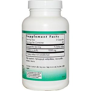 Nutricology, Лактоферрин, 120 растительных капсул