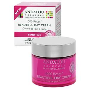 Andalou Naturals, Дневной крем для чувствительной кожи, 1000 роз, 50 мл