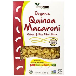 Now Foods, Органические макароны из киноа, без глютена 227 г