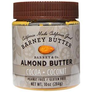 Barney Butter, Масло Барни, миндальное масло, какао + кокос, 284 г