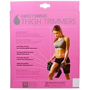 Sports Research, Sweet Sweat Триммеры для Бедер, Розовые, 1 пара
