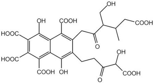 формула фульвовой кислоты