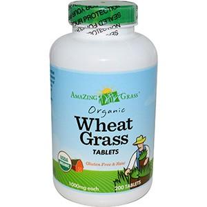 Amazing Grass, Органические ростки пшеницы в таблетках, 1000 мг, 200 таблеток
