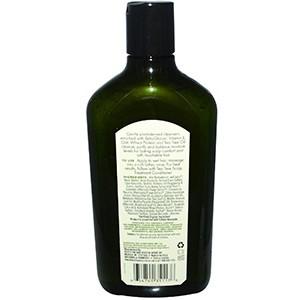 Avalon Organics, Шампунь, с чайным деревом для кожи головы с бета глюканом, 325 мл