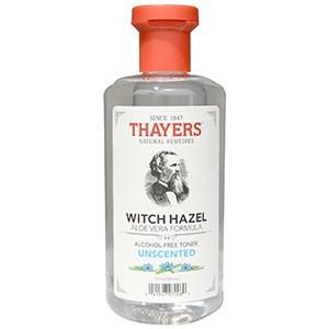 Thayers, Тоник с Алоэ вера и гамамелисом, не содержит спирт, без запаха, 355 мл