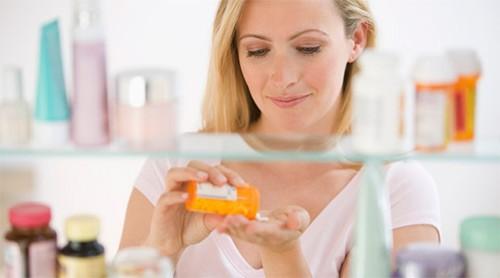 прием препаратов женщиной