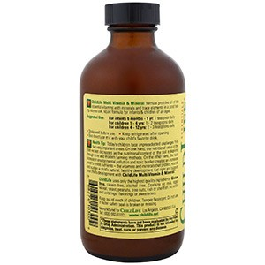 ChildLife, Незаменимые мультивитамины и минеральные элементы со вкусом апельсина/манго, 237 мл