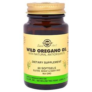Solgar, Масло орегано, 60 гелевых капсул