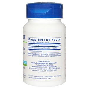 Life Extension, NAD+, клеточный регенератор Никотинамид Рибозид, 100 мг, 30 капсул