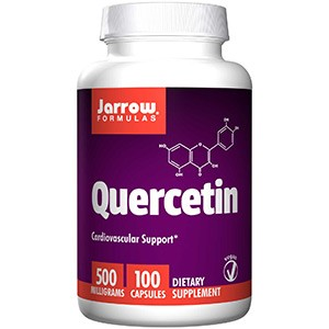 Jarrow Formulas, Кверцетин, 500 мг, 100 капсул