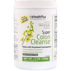 Health Plus, Супер-очищение кишечника, 12 унц. (340 г)