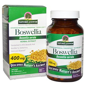Nature's Answer, Босвеллия (Boswellia), 400 мг, 90 капсул