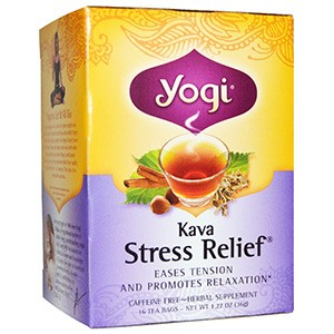 Yogi Tea, Kava Stress Relief, без кофеина