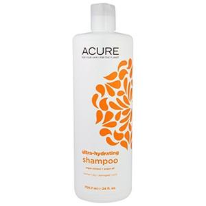 Acure Organics, Шампунь, ультра-увлажняющий, экстракт аргана + масло аргана