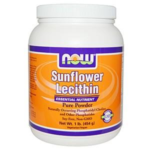 Now Foods, Подсолнечный лецитин, чистый порошок