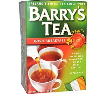 Barry's Tea, Чай «Ирландский завтрак», 40 пакетиков, 125 г