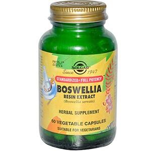 Solgar, Экстракт смолы босвеллии, 60 растительных капсул