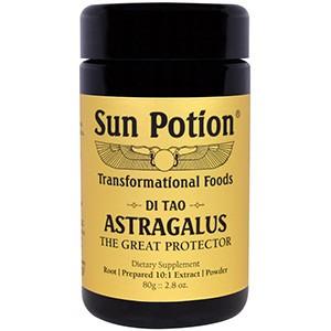 Sun Potion, Порошок Астрагал, Обработка в сыром виде