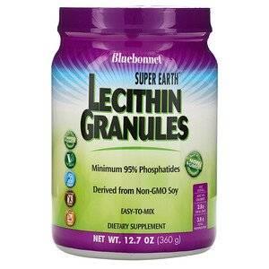 Bluebonnet Nutrition лецитин в гранулах