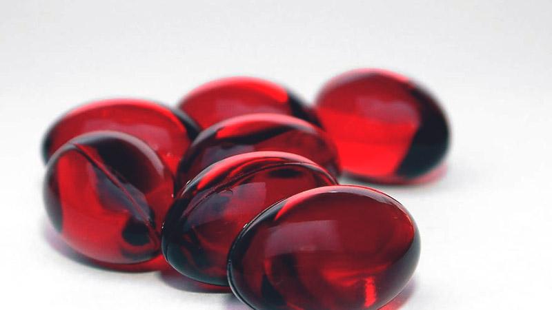 астаксантин в капсулах