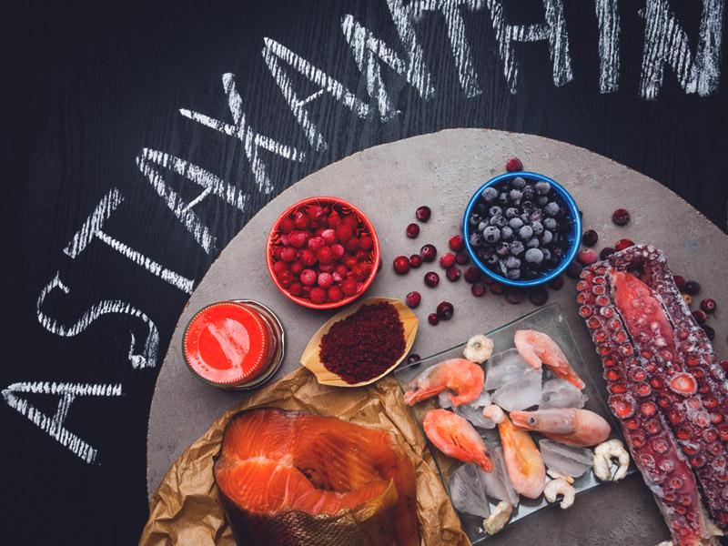 астаксантин в продуктах