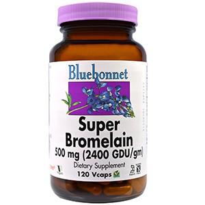 Bluebonnet Nutrition, Супер-бромелайн